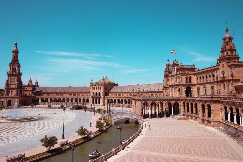 visiter la Plaza de Espana à Séville